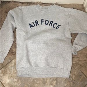 Air Force pullover hoodie (x-small)